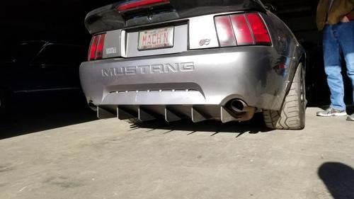 99-04 V6, GT, Mach 1, & '99-'01 Cobra Rear Diffuser