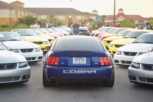 '03-'04 Cobra Rear Diffuser