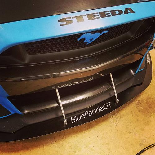 S550 Steeda Front Splitter