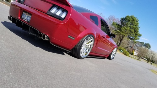 S197 California Special/GT500 Rear Diffuser Street