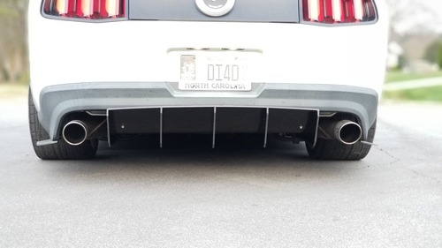S197 California Special/GT500 Rear Diffuser Race