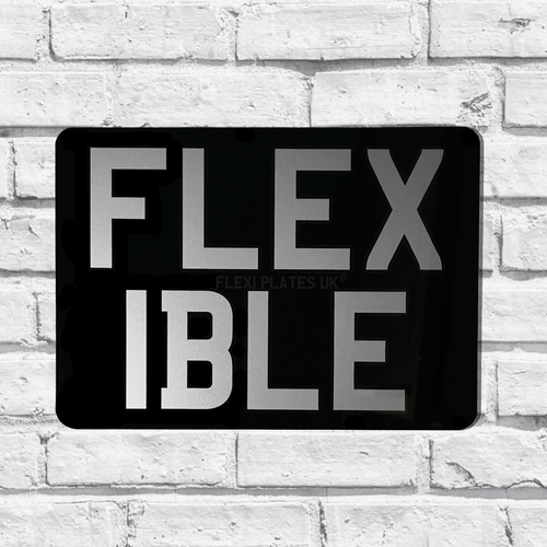 flexible show plates rectangle plates 9x7 flexi plates uk
