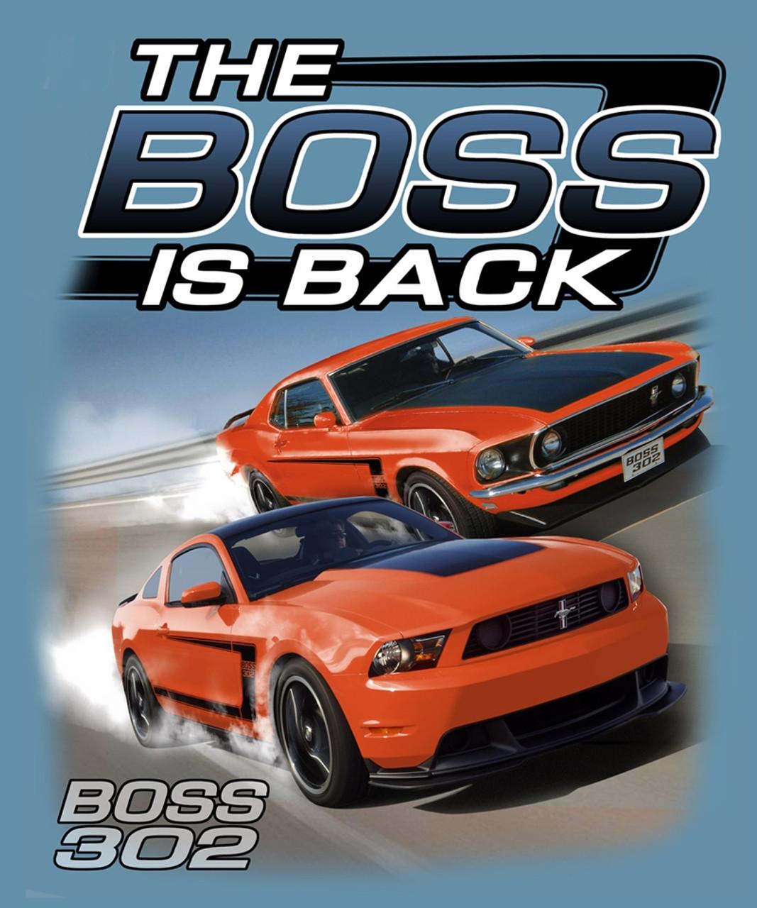 The boss is back grabber orange late model