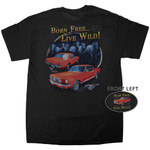 """Born Free...Live Wild"" Mustang T-Shirt"