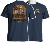 Mustang Shorewood Garage T-Shirt in Blue
