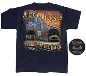 """A Few Horses Tucked in the Barn"" T-Shirt"