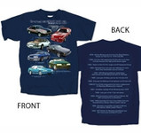 Fox Body Mustang Highlights T-shirt