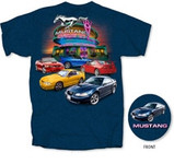 4th Generation Mustang Drive-In T-Shirt in Large