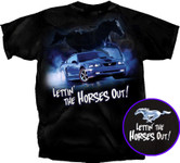 Lettin' the Horses Out! Mach 1 Mustang T-Shirt