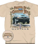 """Faster By A Country Mile"" BULLITT T-Shirt"