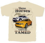 """These Horses Can't Be Tamed"" Mustang T-Shirt"