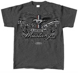 A Stampede is Louder Than a Heartbeat Mustang T-Shirt