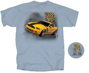 Mustang BOSS 302 - Grabber Yellow T-Shirt