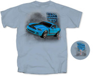 BOSS 302 Mustang - Grabber Blue T-Shirt