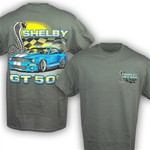 Shelby Flags T-Shirt - GT500 Mustang