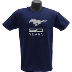 Mustang 50 Years Harbor Blue T-Shirt