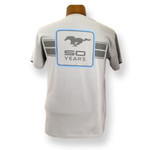 Mustang 50 YEARS Blue Square T-Shirt