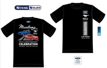 Mens (Black) 50th Anniversary Celebration Official Event T Shirt - 50 Years