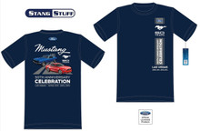 Mens (Blue) 50th Anniversary Celebration Official Event T Shirt - 50 Years