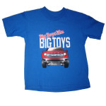 Big Boys Like Big Toys Toddler T-Shirt