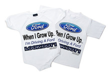 "FORD ""When I Grow Up..."" Kids/Toddler"
