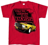 You're Lookin' at the BOSS Kids Mustang Shirt