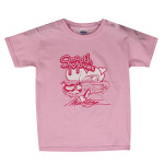 "Kids - ""Smooth Moves Mustang"" Girls T-Shirt (Pink)"