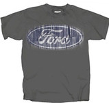 Ford Oval Distressed T-Shirt