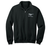 Performance Fleece Black 1/4 Zip Jacket