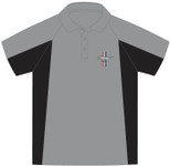 Mustang Performance Polo in Grey