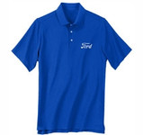 Performance Polo Ford Logo in Royal Blue