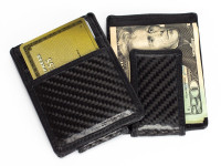 Wallet - Carbon Fiber Card Holder & Money Clip Style
