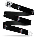Kids Mustang Seatbelt Belt - Tri-Bar Logo