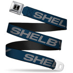Kids Shelby Text Seatbelt Belt