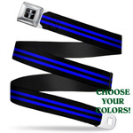 Mustang Seatbelt Belt - Racing Stripes Styles