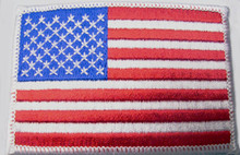 Patch - American Flag Embroidered