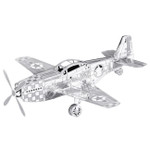 Metal Earth - Mustang P-51 3D Model Kit