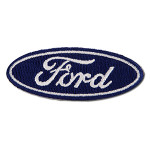 Patch - Ford Blue Oval - Small 2.5""