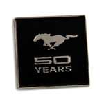 Mustang 50 YEARS Lapel Pin