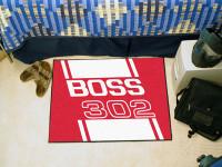 """Floor Mat - BOSS 302 Mustang 19"""" x 30"""""""
