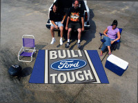 "Built Ford Tough 60""x96"" Rug"