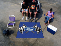 """Ford Flags 60""""x72"""" Rug"""