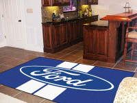 "Ford Oval Stripes 60""x92"" Area Rug"