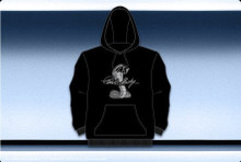 Shelby Cobra Hooded Screen Printed Sweatshirt