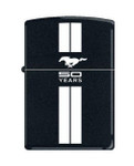 Mustang 50 YEARS Black ZIPPO Lighter