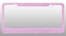 Pink Bling License Plate Frame
