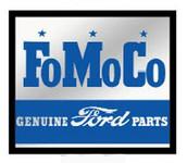 Framed FoMoCo Genuine Ford Parts Mirror