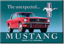 Magnet - The Unexpected . . . Mustang