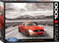 Puzzle - 2015 Ford Mustang - 1000 Pieces