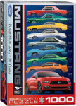 Puzzle - Ford Mustang 50 YEARS - 9 Mustangs, 1000 pieces
